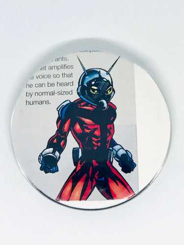 Ant-Man Buttons
