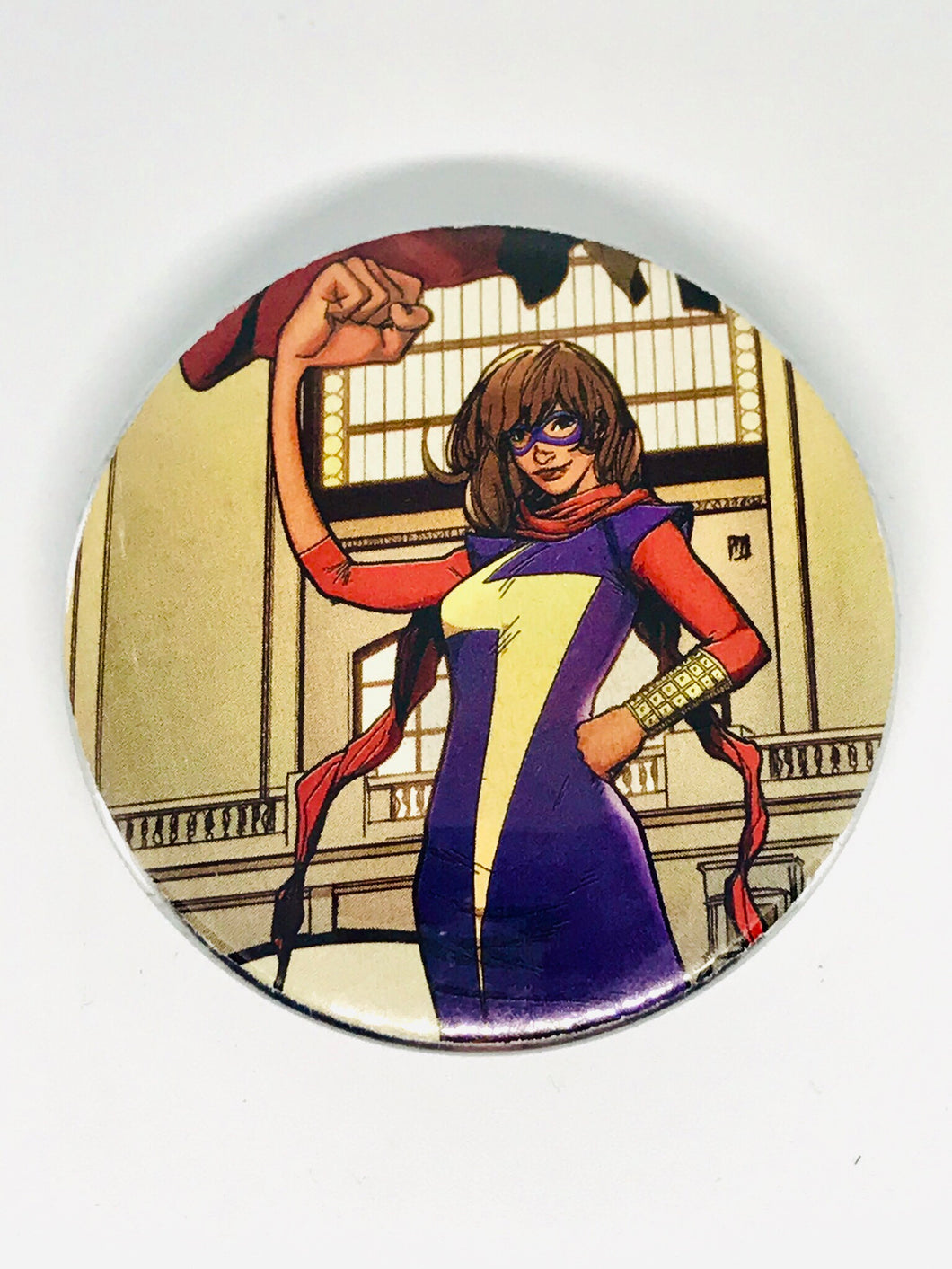 Ms. Marvel Button