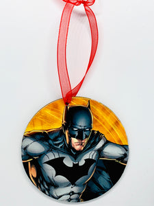 Batman & Superman Ornament