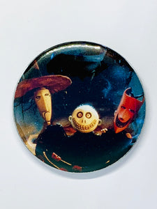 Nightmare Before Christmas Buttons