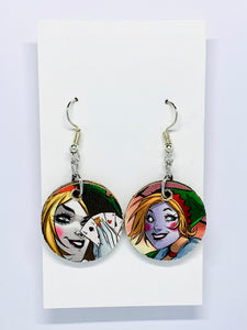 Harley Quinn Earrings