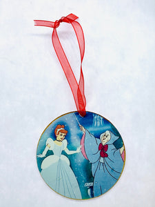 Cinderella Ornament