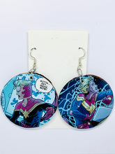 Captain Marvel Earrings