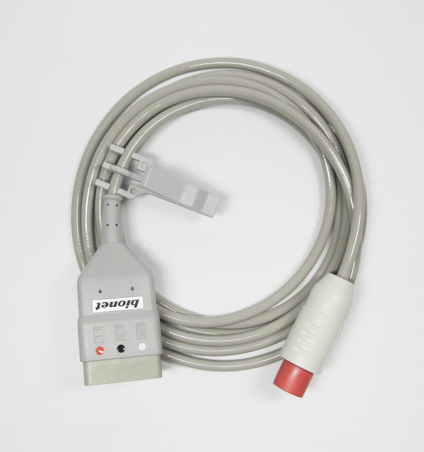 B-CBL-N - Bionet - 3 lead ECG extension cable