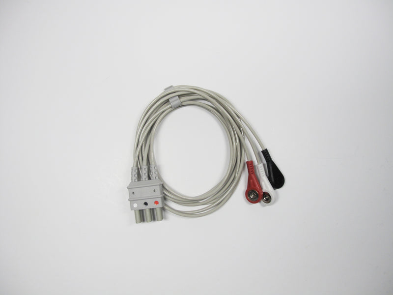 B-WIRE-SA - Bionet - 3 lead ECG cable (Snap type)