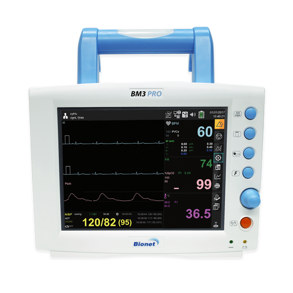 BM3 Pro - Bionet Multi-Parameter Patient Monitor