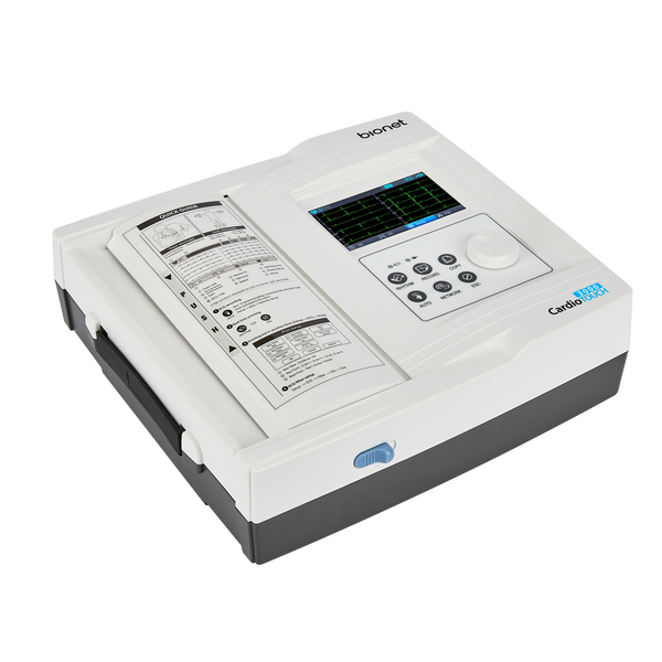 CardioTouch 3000 - Bionet Premium Quality Interpretive 12 Channel Electrocardiograph ECG EKG Machine