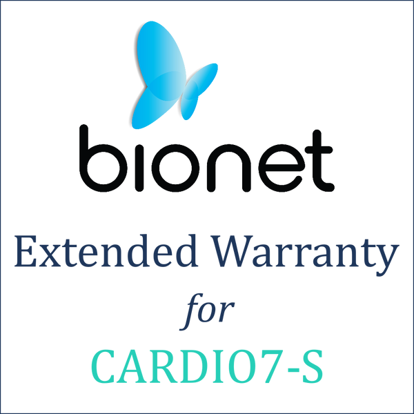 Bionet Extended Warranty (1 Year) - Cardio7-S