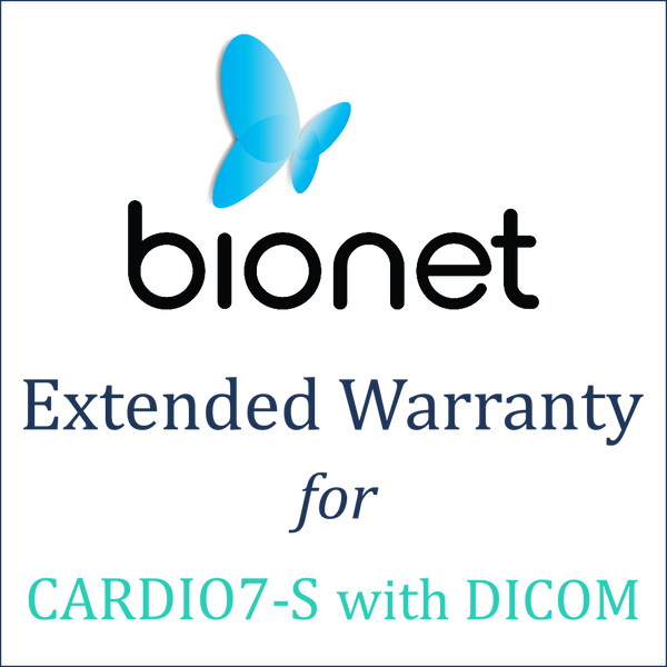 Bionet Extended Warranty (1 Year) - Cardio7-S with DICOM