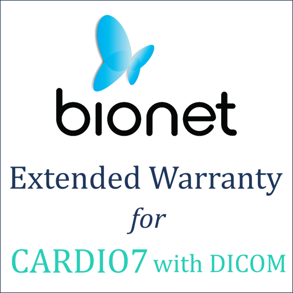 Bionet Extended Warranty (1 Year) - Cardio7 with DICOM