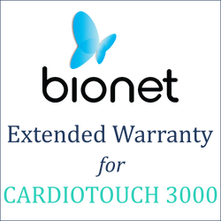 Bionet Extended Warranty (1 Year) - CardioTouch 3000