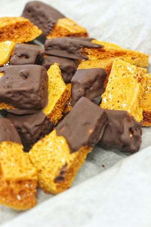 Chocolate Goldencomb Crunchy Bites