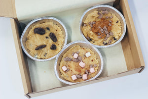 Trio of Cookie Dough - Bake at home