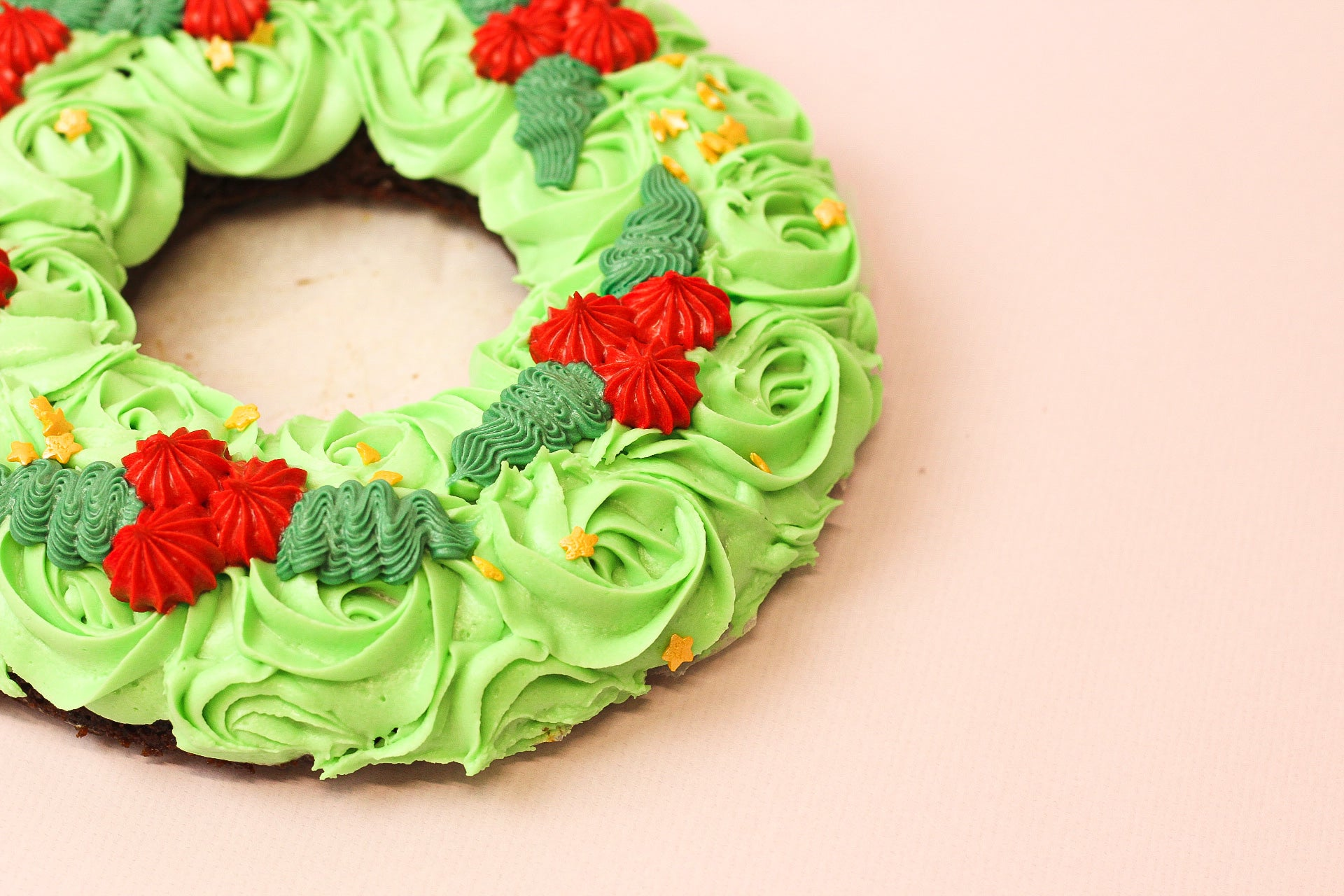 Doughnot Christmas Wreath (Sheffield only)