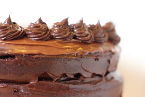 Triple Chocolate & Honeycomb Cake