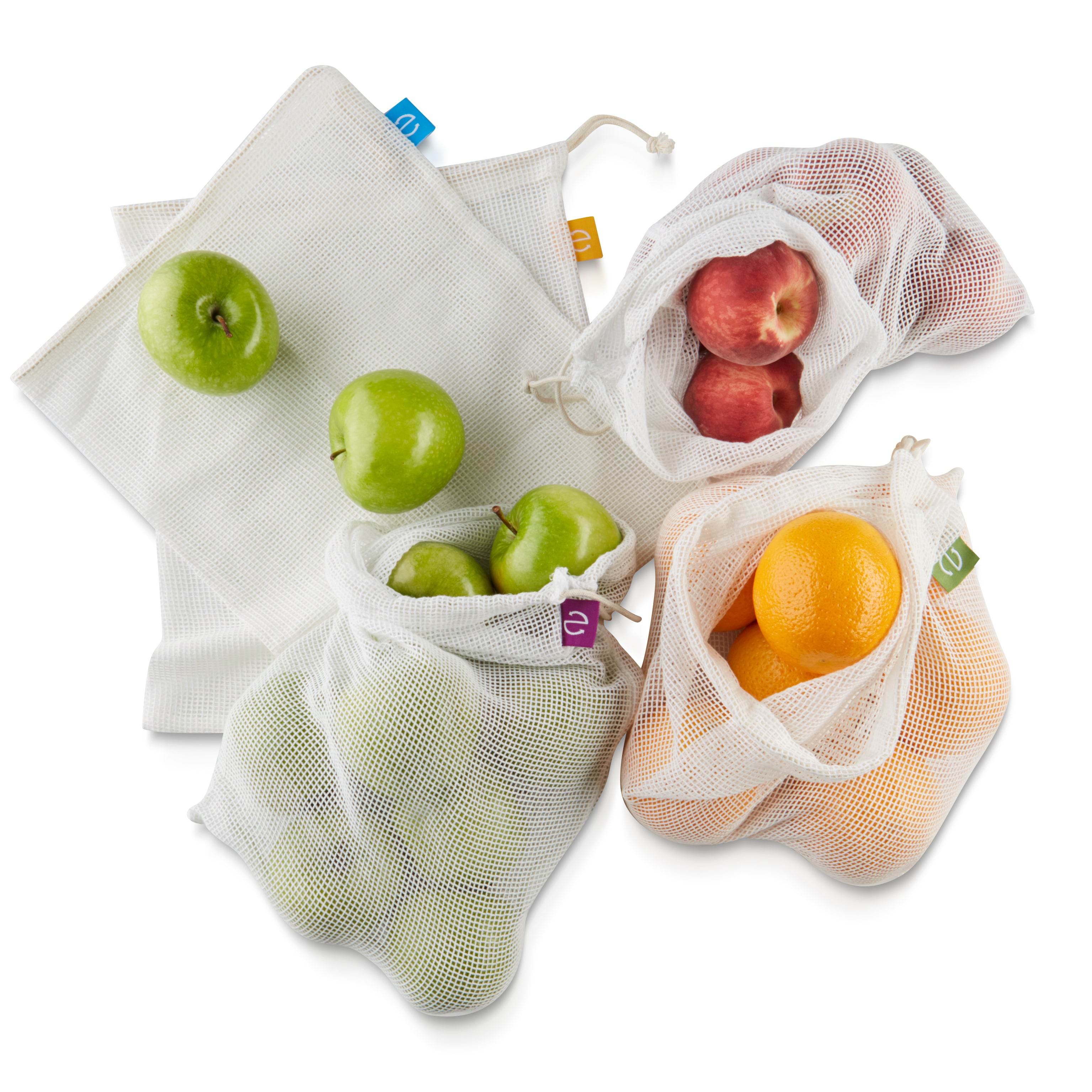 Copy of 5x Produce Bags + Honeycomb Carry Bag