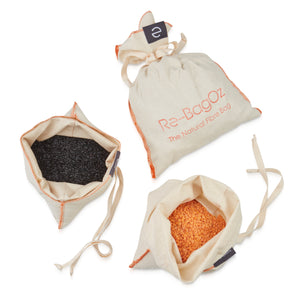 Dry goods bag set of 3 for grains,  seeds, nuts