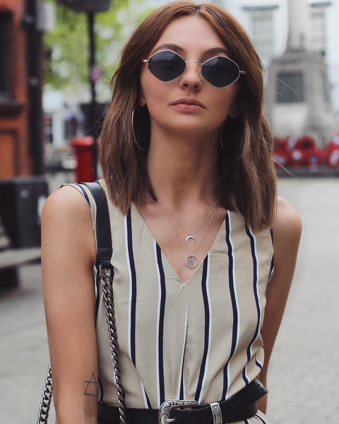 Stripy Jumpsuit Relaxed Fit