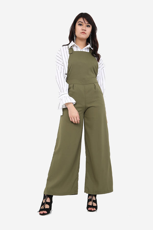 Dungaree Buckle Jumpsuit
