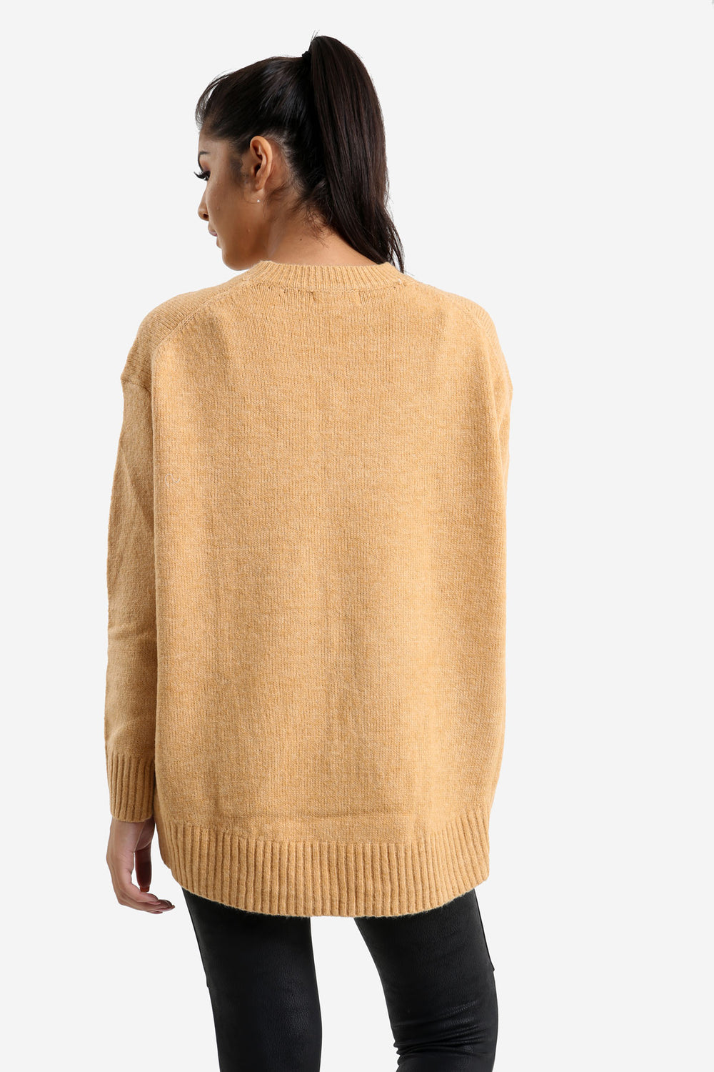 Camel Relaxed Fit Jumper