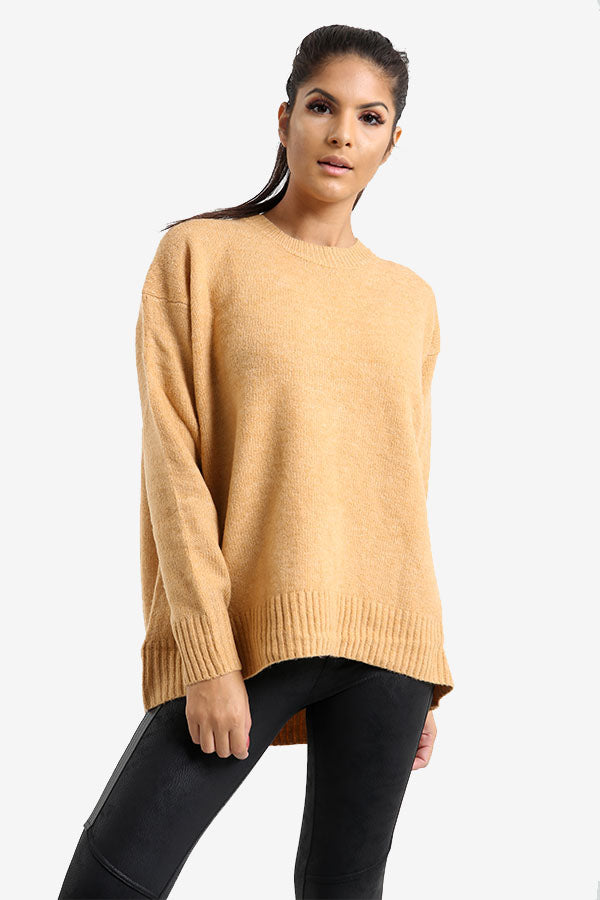 Apricot Oversized Jumper