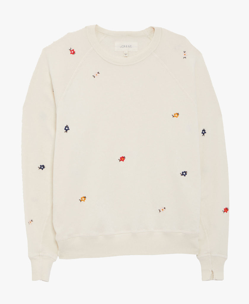 The College Sweatshirt Floral