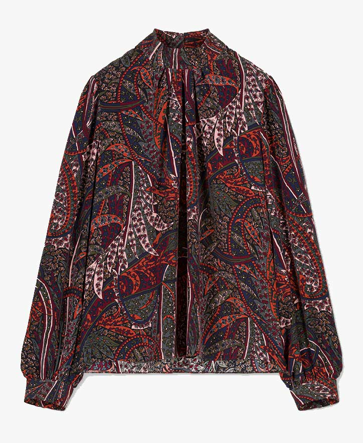 Vanessa Bruno Paolo Printed Blouse