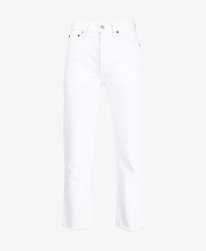High Rise Ankle Crop Skinny