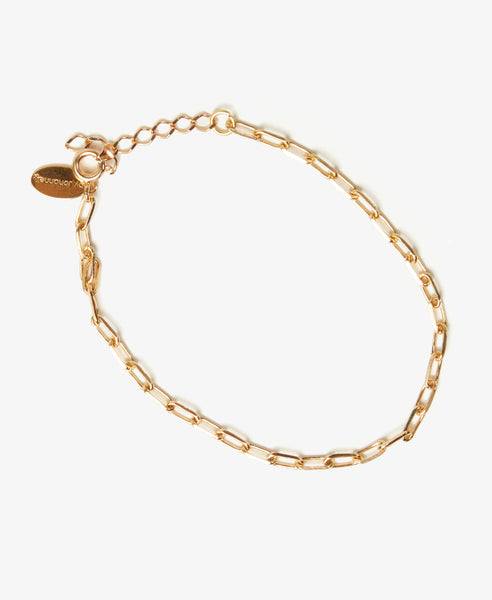 Small Gold Chain Bracelet