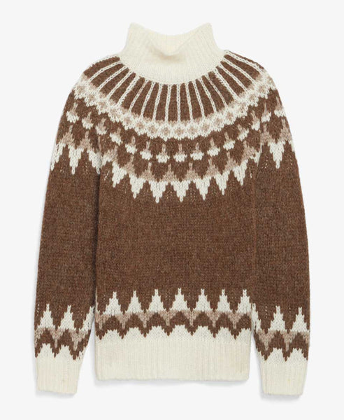 Fairisle Turtleneck