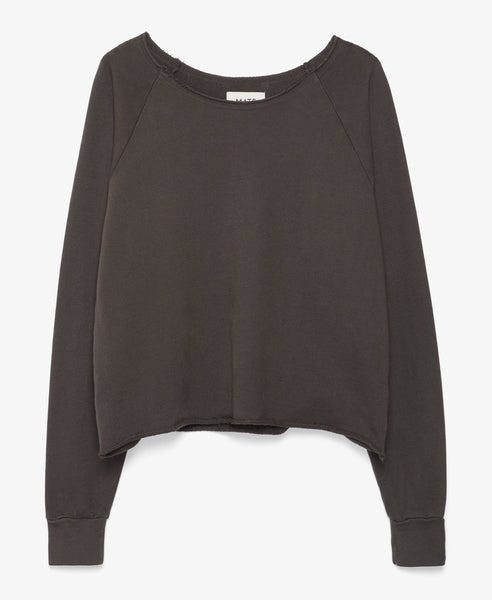 Donny Pullover Sweatshirt in Charcoal