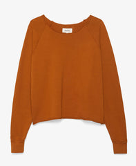 Donny Pullover Sweatshirt in Orange
