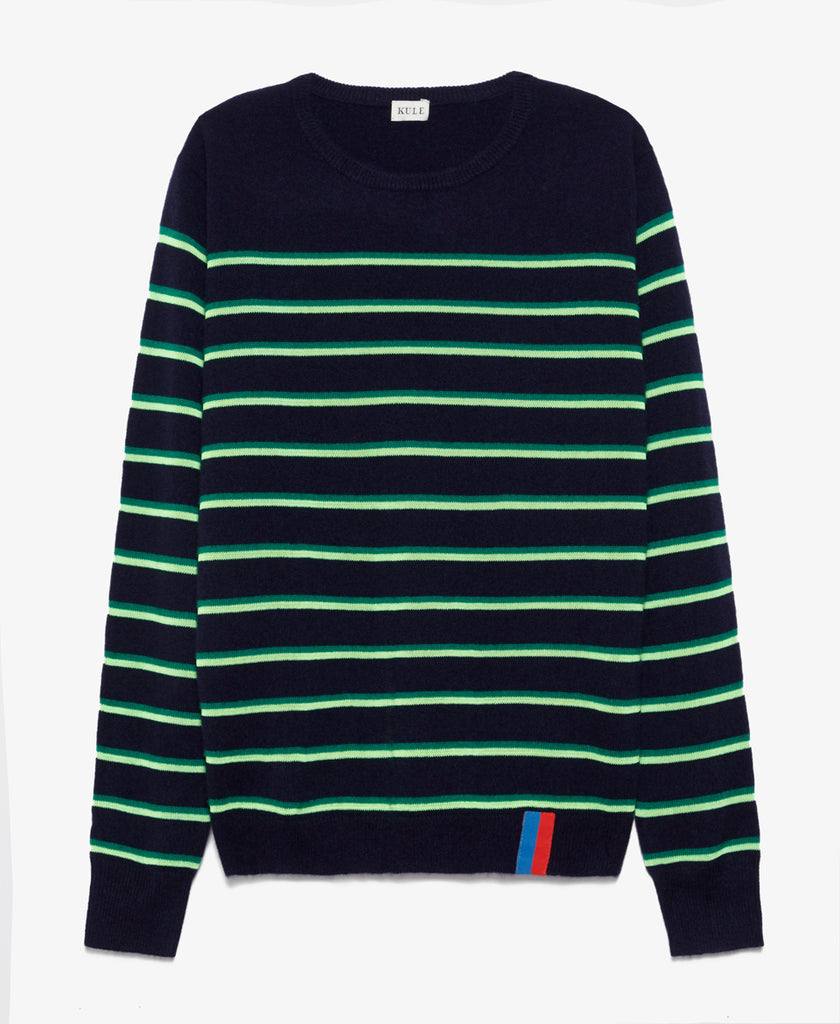 Samara Navy Stripe Sweater