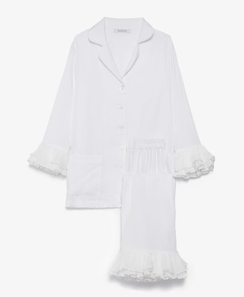 Arlekino White 'Pajama' Set