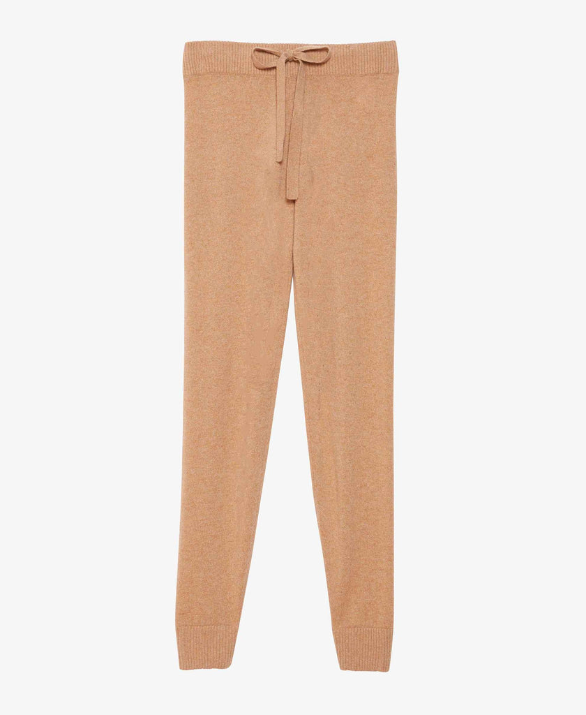 Tan Cashmere Sweatpants