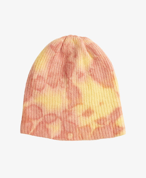 Hot Dye Orange Watchman Knit Beanie Hat