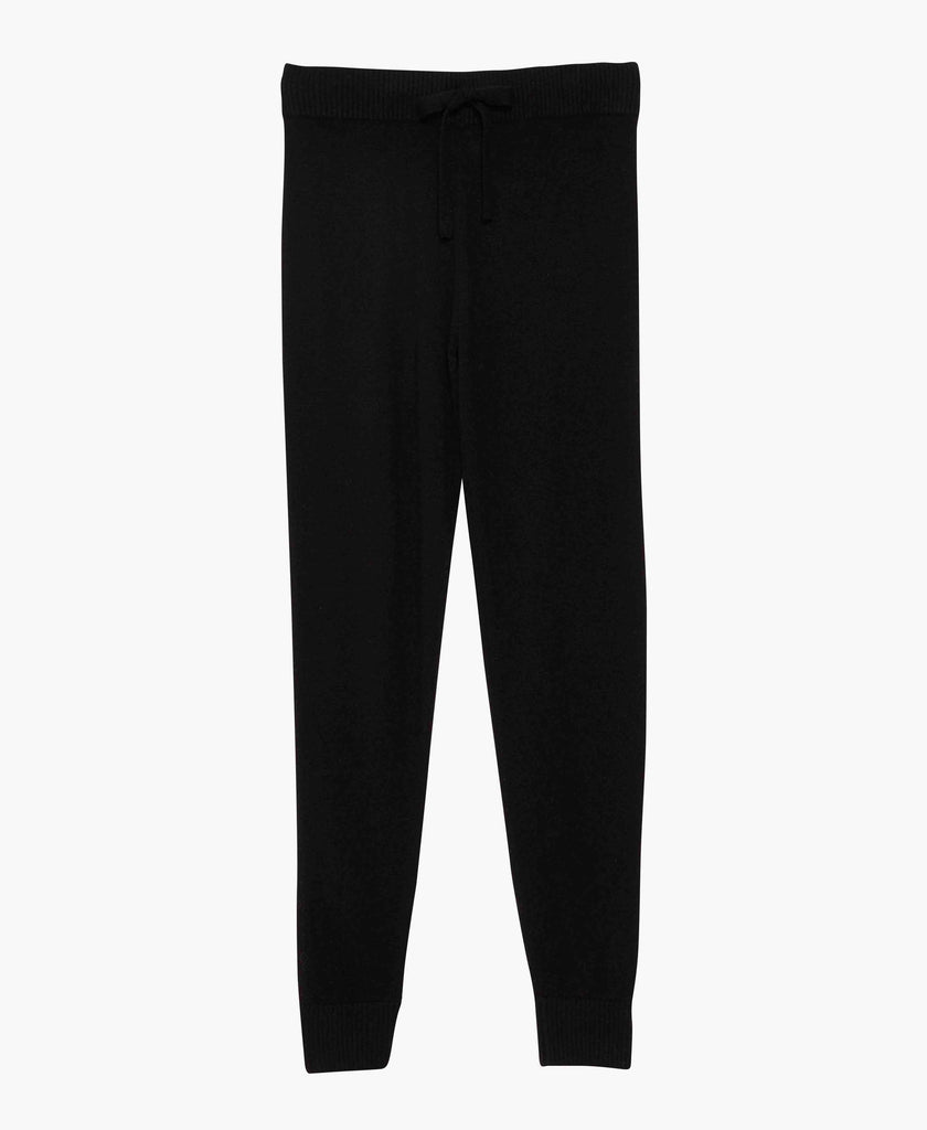 Black Cashmere Sweatpants