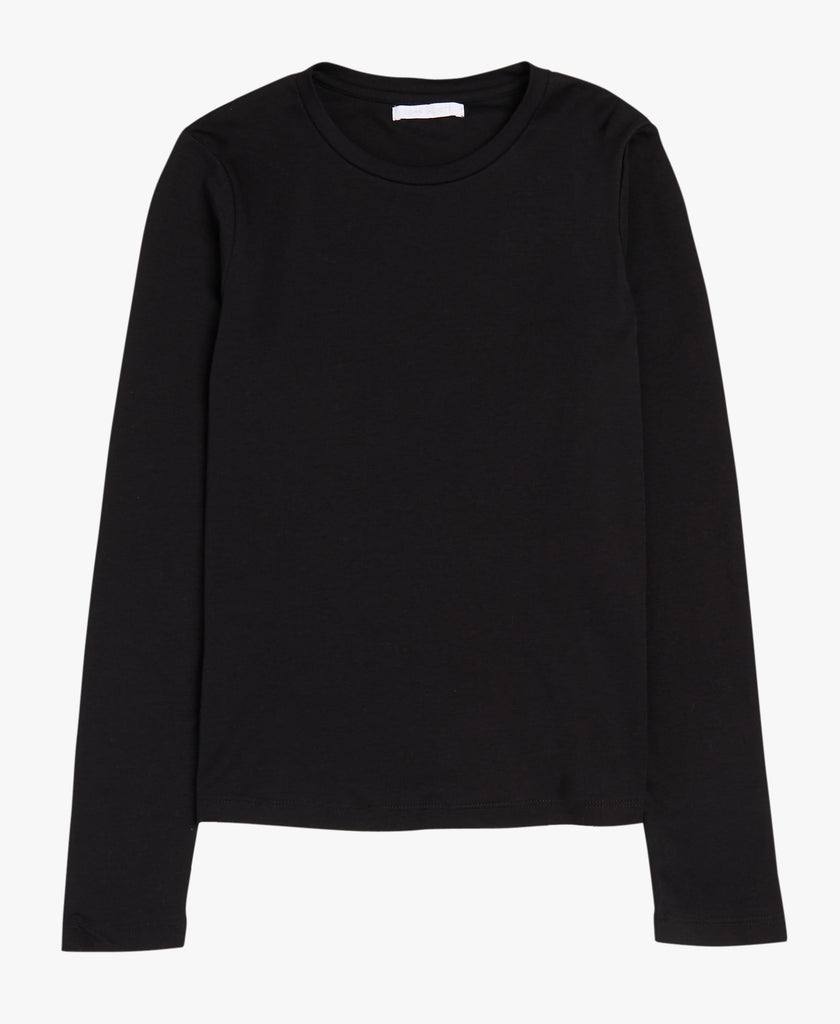 Classic Black Long Sleeve Tee
