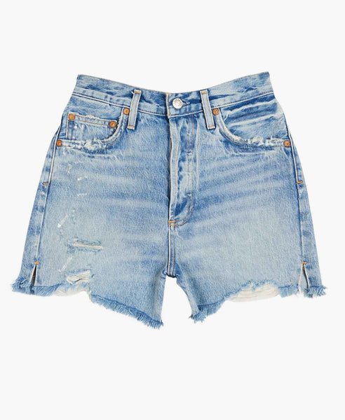 Dee High Rise Denim Shorts