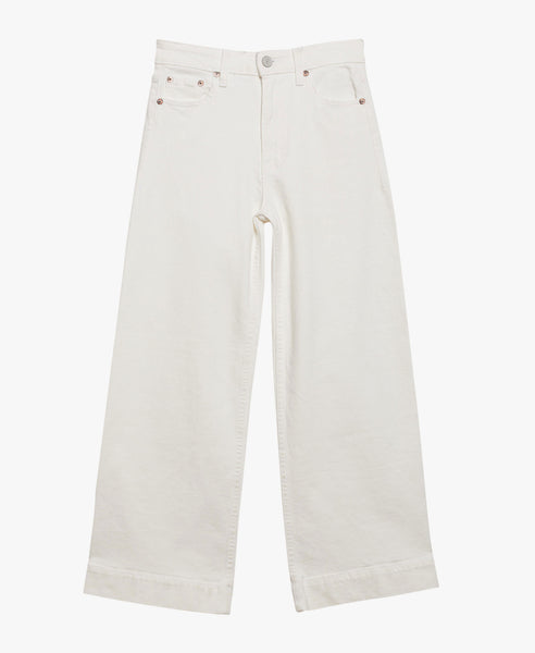 Audrey Cropped Wide Leg Jeans