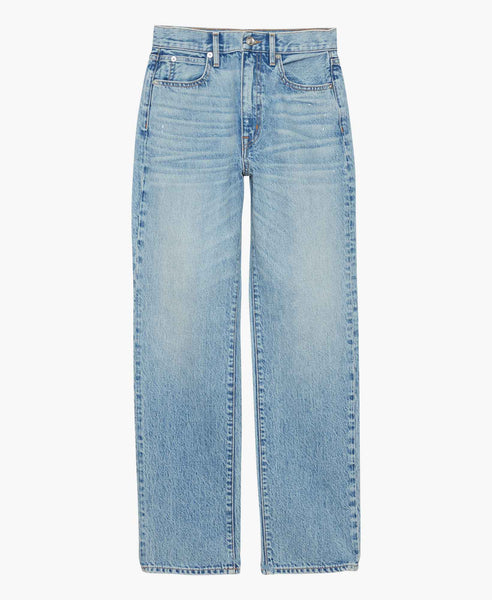 Hi Rise London Straight Jeans