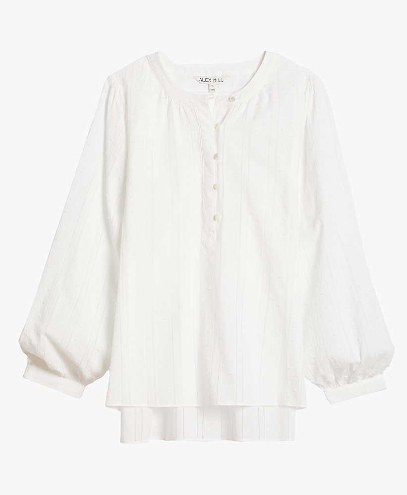 Button Down Popover Top