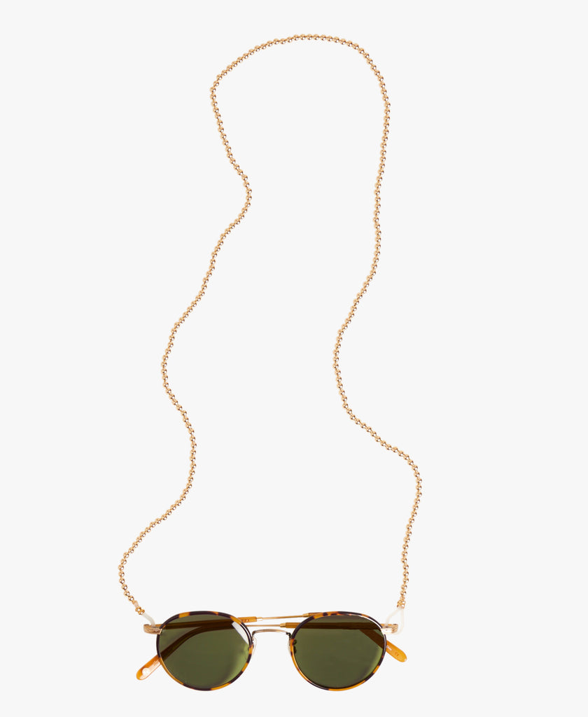 Gold Ball Sunglass Chain