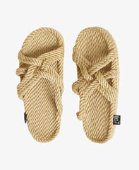 Slip On Cross Strap Sandal