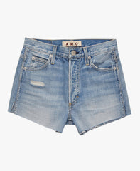 Everyday cut-off shorts with a relaxed fit. Non-stretch.