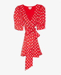 womens polka dot dress