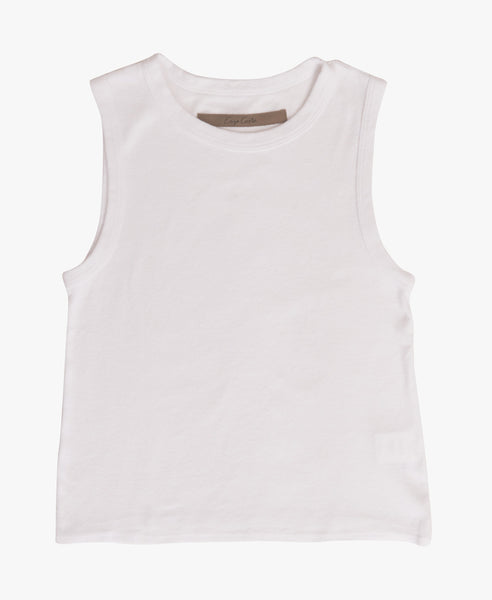 Recycled Cotton Sleeveless Tank