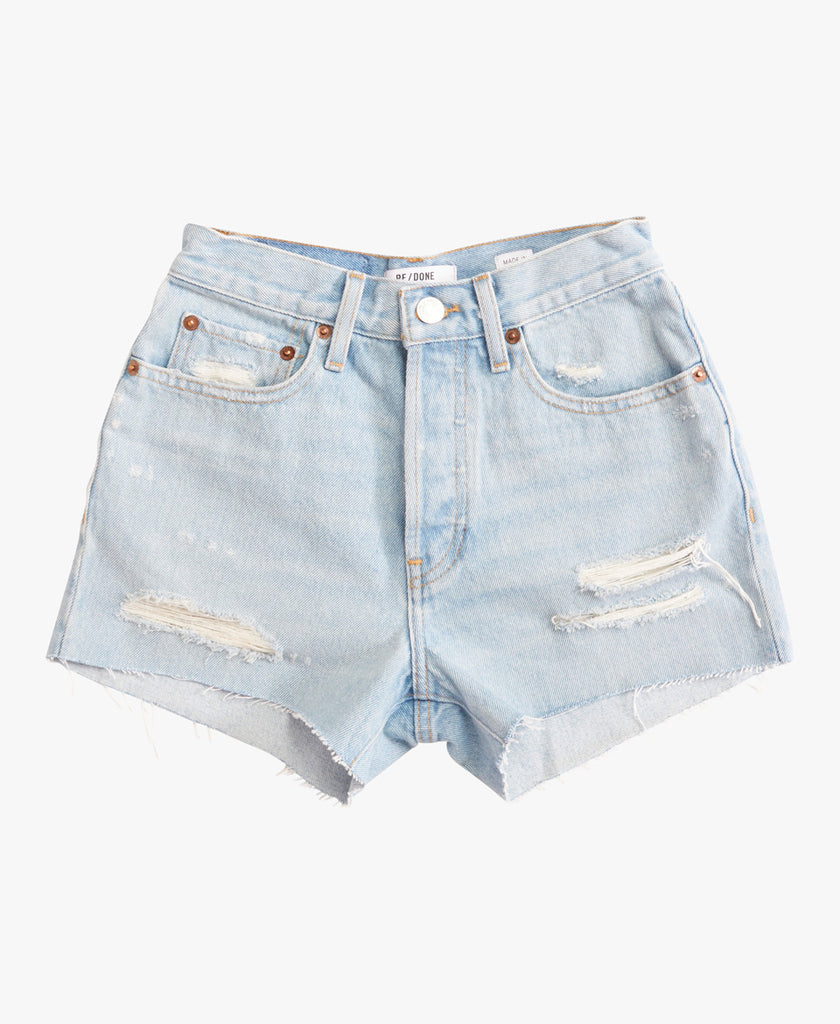 re/done 70s High Rise Denim Short