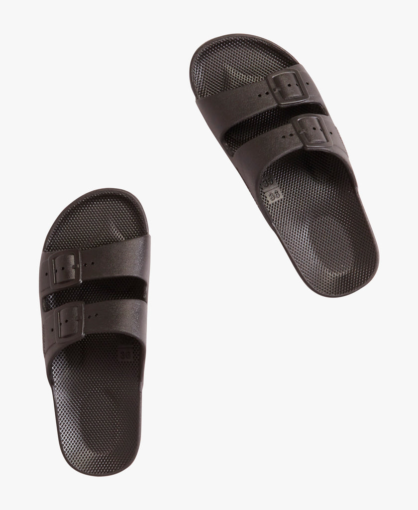 freedom moses Two Strap Buckle Slides