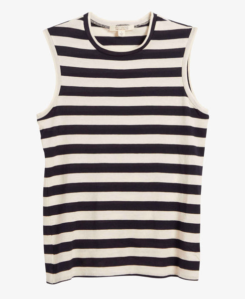 Nili Lotan Striped Muscle Tee